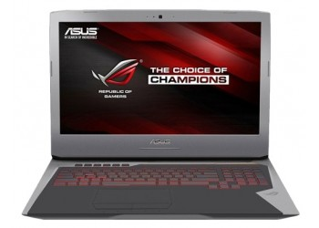 "Ноутбук ASUS ROG G752VY (Intel Core i7 6820HK 2700 MHz/17.3""/1920x1080/64.0Gb/2256Gb HDD+SSD/Blu-Ray/NVIDIA GeForce GTX 980M/Wi-Fi/Bluetooth/Win 10 Home)"