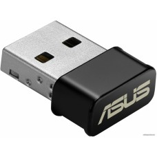Адаптер (ASUS WiFi Adapter USB-AC53 Nano (USB2.0, WLAN 1200Mbps Dual-band 2.4GHz+5.1GHz, 802.11ac) 2x int Antenna)