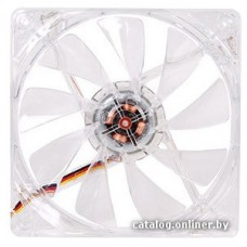 Кулер (Thermaltake Case Fan Pure 12 LED Red (3pin, Red LED, 120x120x25 mm, 1000rpm, 19.5 dBA))