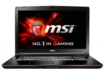"Ноутбук MSI GE72 6QC Apache (Core i5 6300HQ 2300 MHz/17.3""/1920x1080/4Gb/1000Gb/DVD-RW/NVIDIA GeForce GTX 960M/Wi-Fi/Bluetooth/Win 10 Home)"