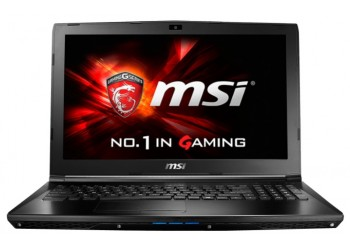 "Ноутбук MSI GL62 6QD (Intel Core i5 6300HQ 2300 MHz/15.6""/1920x1080/8Gb/1000Gb/DVD-RW/NVIDIA GeForce GTX 950M/Wi-Fi/Bluetooth/DOS)"