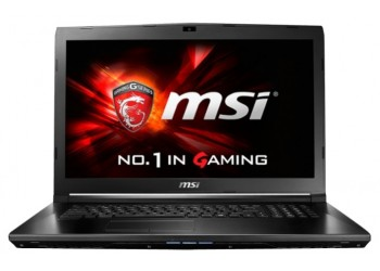 "Ноутбук MSI GL72 6QC (Intel Core i5 6300HQ 2300 MHz/17.3""/1600x900/8.0Gb/1000Gb/DVD-RW/NVIDIA GeForce 940MX/Wi-Fi/Bluetooth/Win 10 Home)"