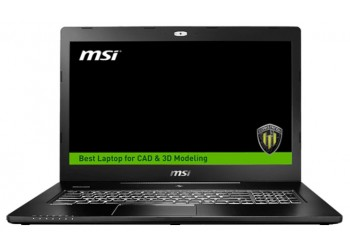 "Ноутбук MSI WS72 6QI (Intel Core i5 6300HQ 2300 MHz/17.3""/1920x1080/8.0Gb/1000Gb/DVD нет/NVIDIA Quadro M1000M/Wi-Fi/Bluetooth/Win 10 Pro)"
