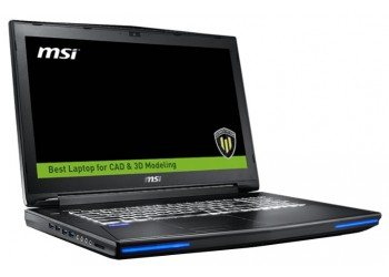 "Ноутбук MSI WT72 6QI (Core i7 6700HQ 2600 MHz/17.3""/1920x1080/16.0Gb/1128Gb HDD+SSD/DVD нет/NVIDIA Quadro M1000M/Wi-Fi/Bluetooth/Win 10 Pro)"