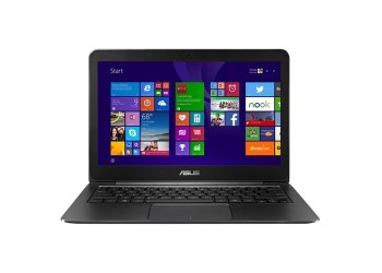 "Ноутбук (ASUS UX305FA-FC060T 13.3""(1920x1080)/Intel Core M 5Y10C(0.8Ghz)/4096Mb/128SSDGb/noDVD/Int:Intel HD5300/Cam/BT/WiFi/48WHr/war 2y/1.3kg/black/W10)"