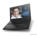 "Ноутбук (Lenovo ThinkPad X260 12.5""(1920x1080 IPS)/Intel Core i7 6500U(2.5Ghz)/8192Mb/256SSDGb/noDVD/Int:Intel HD Graphics 520/Cam/BT/WiFi/23+23WHr/war 3y/1.44kg/black/W10Pro + 3 cell+3cell, 45W)"
