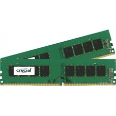 Память оперативная (Crucial  8GB Kit (4GBx2) DDR4 2400 MT/s (PC4-19200) CL17 SR x8 Unbuffered DIMM 288pin)