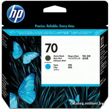 Печатающая головка HP 70 Matte Black and Cyan для Designjet Z2100 Photo Printers