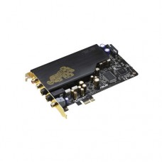 Звуковая карта (Sound Card ASUS <PCI-e x1> Xonar Essence STX, OUTPUT: Analog 2ch 124dB for Front-out,117dB for Headphone-out (600ohms), Digital S/PDIF, INPUT: Line-in,Mic-in, FEATURES: Dolby Digital Live, Headphone, Virtual Speaker, Pro-Logic II, 1xS/PDIF optical adaptors)