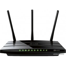 Маршрутизатор (AC1200 Dual Band Wireless Gigabit Router, Broadcom, 867Mbps at 5GHz + 300Mbps at 2.4GHz, 802.11ac/a/b/g/n, Beamforming, 1 Gigabit WAN + 4 Gigabit LAN, Wireless On/Off, 1 USB 2.0 ports, 3 fixed antennas)