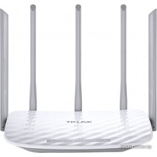 Маршрутизатор (AC1350 Dual Band Wireless Router, QCA (Atheros), 867Mbps at 5GHz + 450Mbps at 2.4GHz, 802.11ac/a/b/g/n, 1 10/100Mbps WAN + 4 10/100Mbps LAN ports,  5 fixed antennas)