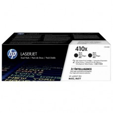 Тонер-картридж набор из 2 шт (HP 410X 2-pack High Yield Black Original LaserJet Toner Cartridges (CF410XD))