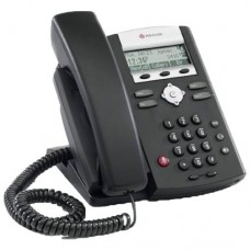 Телефонный аппарат (SoundPoint IP 331, 2-line IP desktop phone with factory disabled media encryption, integrated 2-port 10/100 Ethernet switch and PoE support. Compatible Partner platform: 20. Does not include AC power supply)