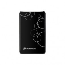 """Жесткий диск (Transcend USB3.0 1TB StoreJet 2.5"""" A Series White (With one touch backup))"""