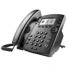 Телефонный аппарат (VVX 310 6-line Desktop Phone Gigabit Ethernet with with factory disabled media encryption for Russia. POE. Ships without power supply)